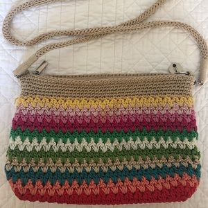 The Sak Casual Classic Woven Convertible Mini Bag